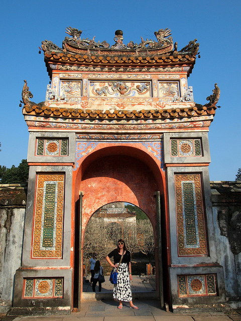 Entrance to Tu Duc Tomb