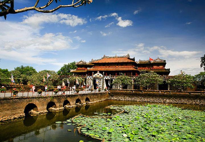 Thai Hoa Palace in the Forbiden City
